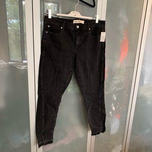 Brand new! GAP cool skinny ankle jeans, black wash